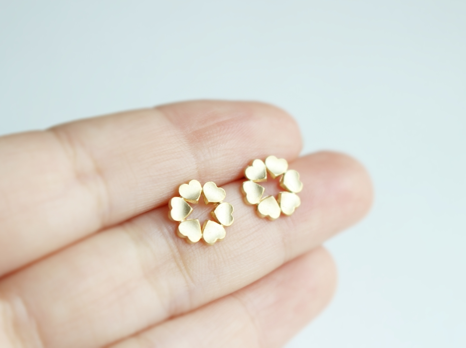 products earrings stud collection simple collections gold dana jewelry seng